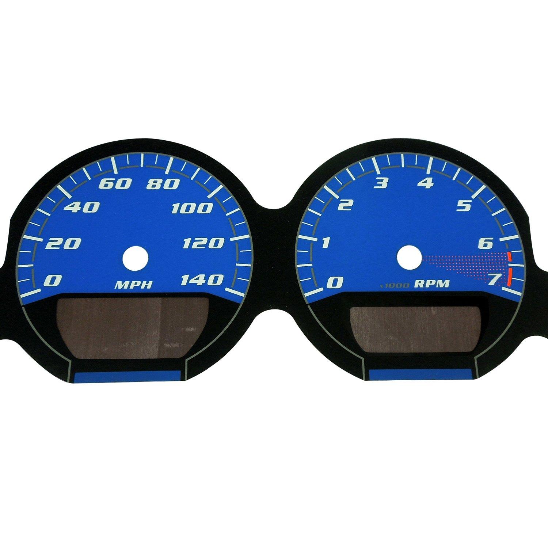 ... Speedo® - Daytona Edition Gauge Face Kit with Blue Night Lettering  Color, Blue, ...