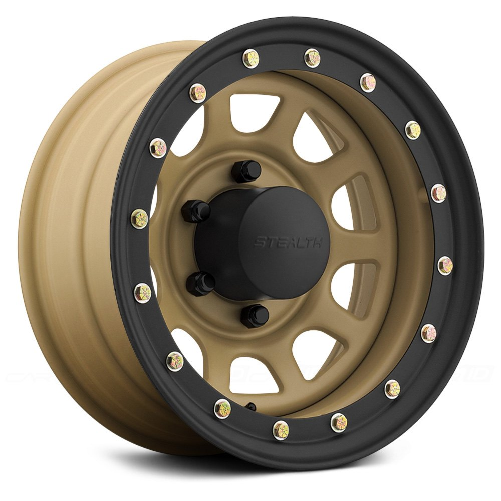 Us Wheels 174 Stealth Daytona Simulated Beadlock Wheels