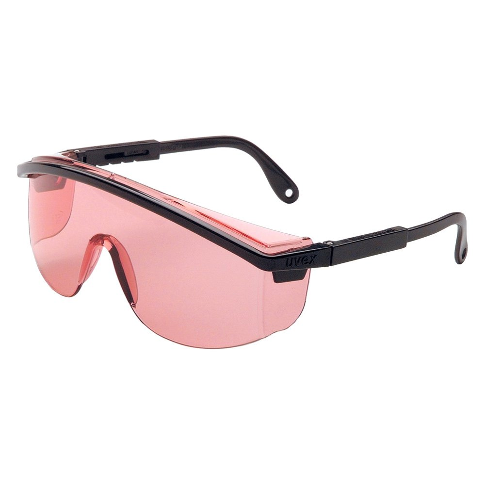 Black Frame Safety Glasses : Uvex S1362C - Astrospec 3000 Black Frame Safety Glasses ...