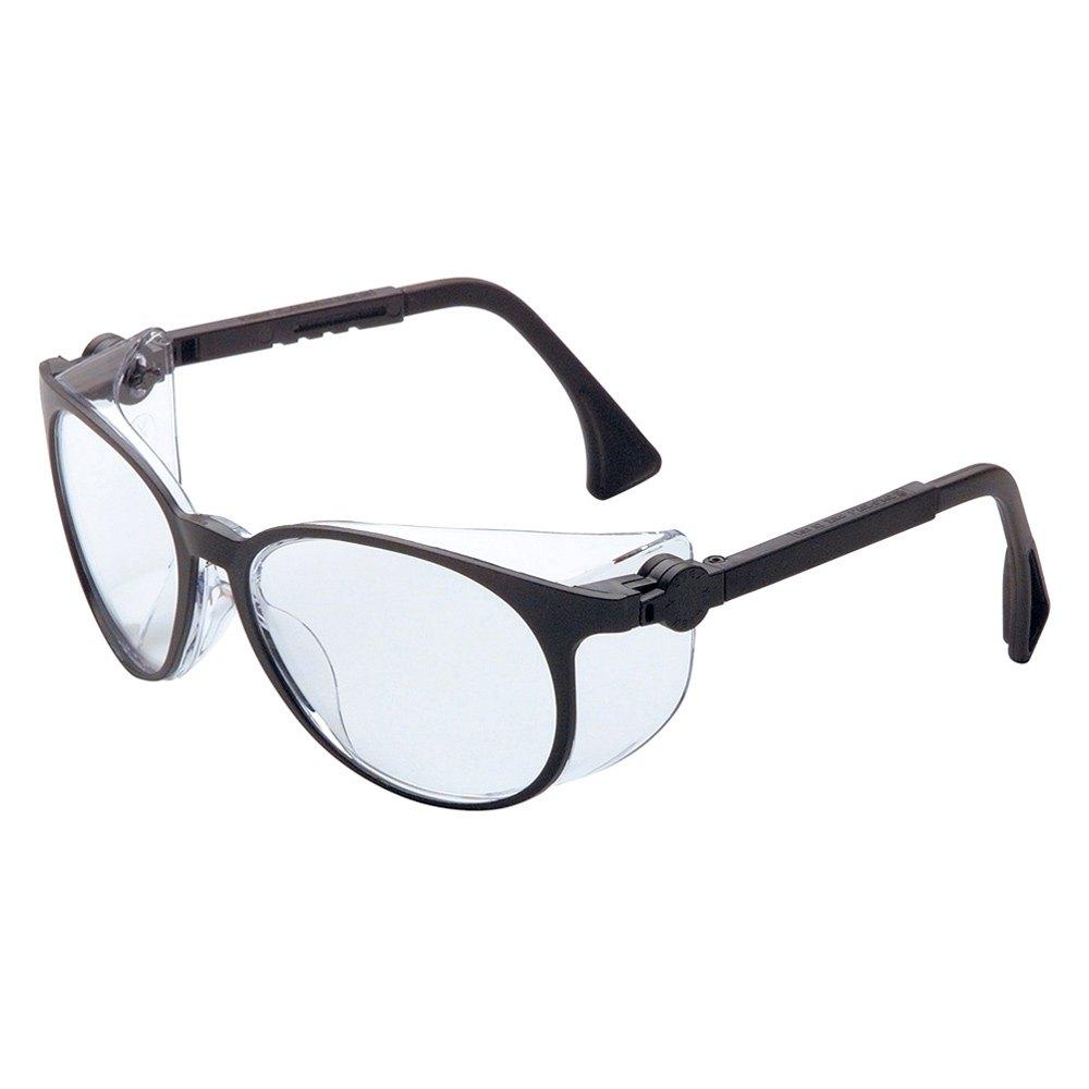 Glasses Frame Black And Clear : Uvex S4000 - Flashback Black Frame Safety Glasses with ...