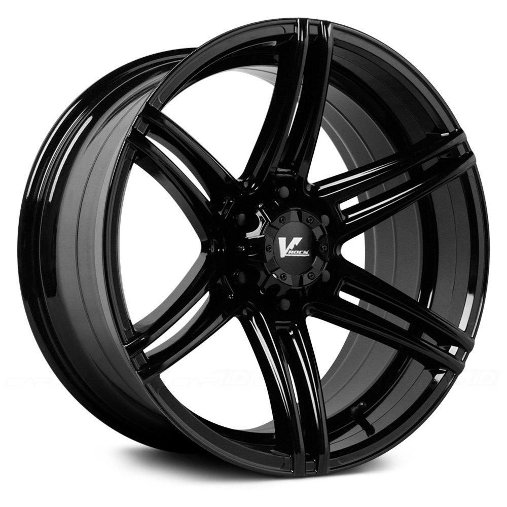 V Rock 174 Vr9 Terrain Wheels Matte Black Rims