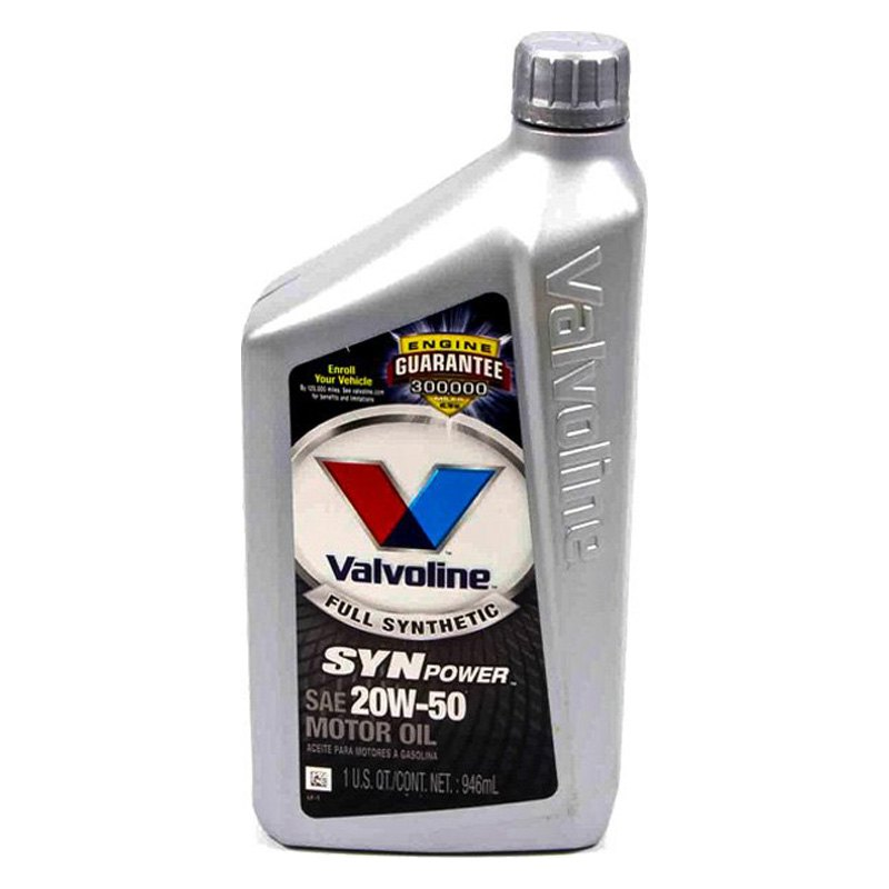 Valvoline 945 c synpower sae 20w 50 full synthetic motor for What is synthetic motor oil