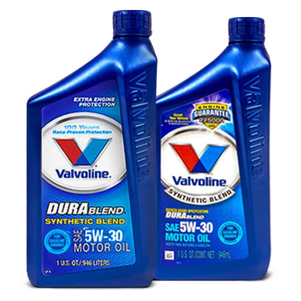Valvoline Durablend Motor Oil Synthetic Blend