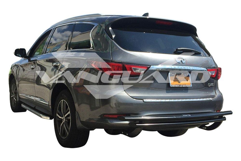 Vanguard Off Road Honda Cr V Ex Ex L Lx 2014 Rear Double Layer Bumper Guard