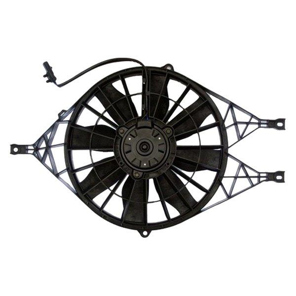Vdo Dodge Durango 2000 Engine Cooling Fan Assembly