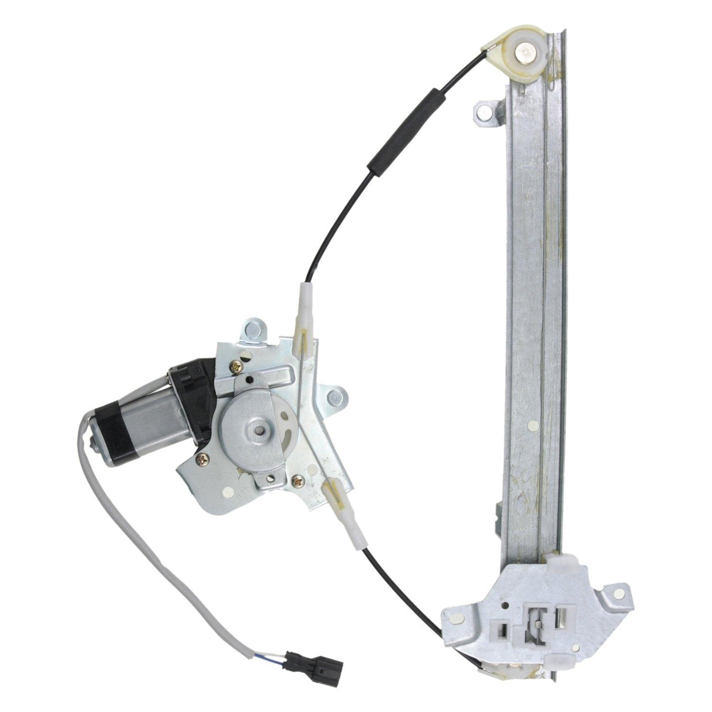 Vdo wl44121 power window motor and regulator assembly for Window regulator motor assembly