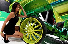 VELOCITY® - Green Wheels on SEMA 2014