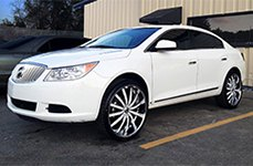 VENICE® - DOLCE Chrome with Custom Painted Inserts on Buick Lacrosse