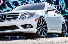 VERDE® - SHIFT Matte Black on Mercedes C350