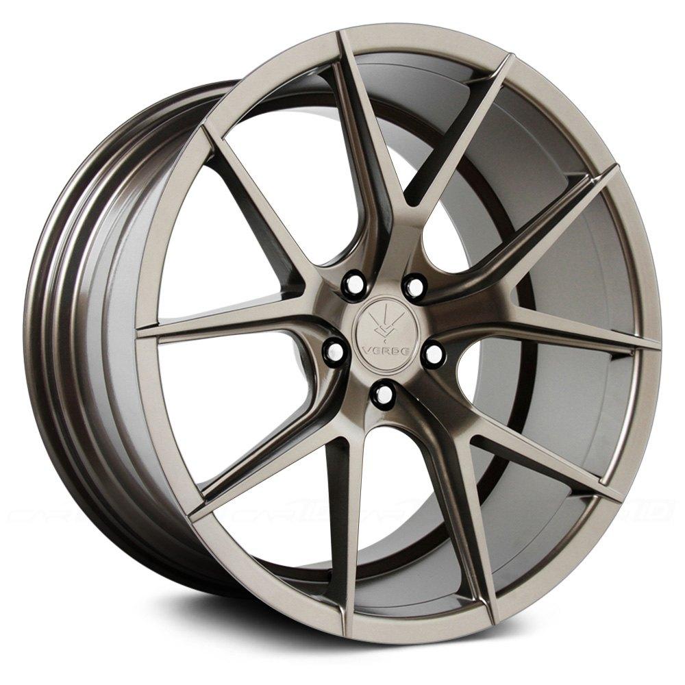 Verde 174 Axis Wheels Gloss Bronze Rims