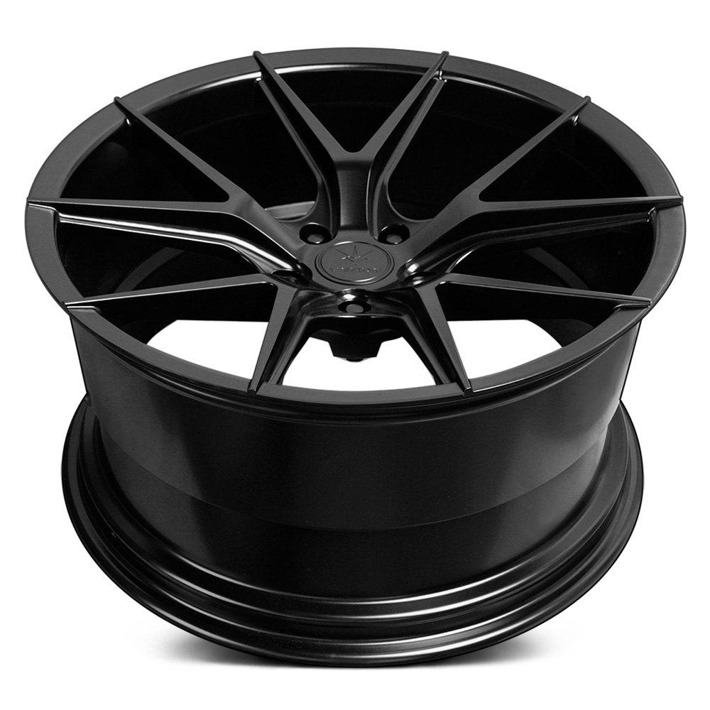 Verde 174 V99 Axis Wheels Satin Black Rims