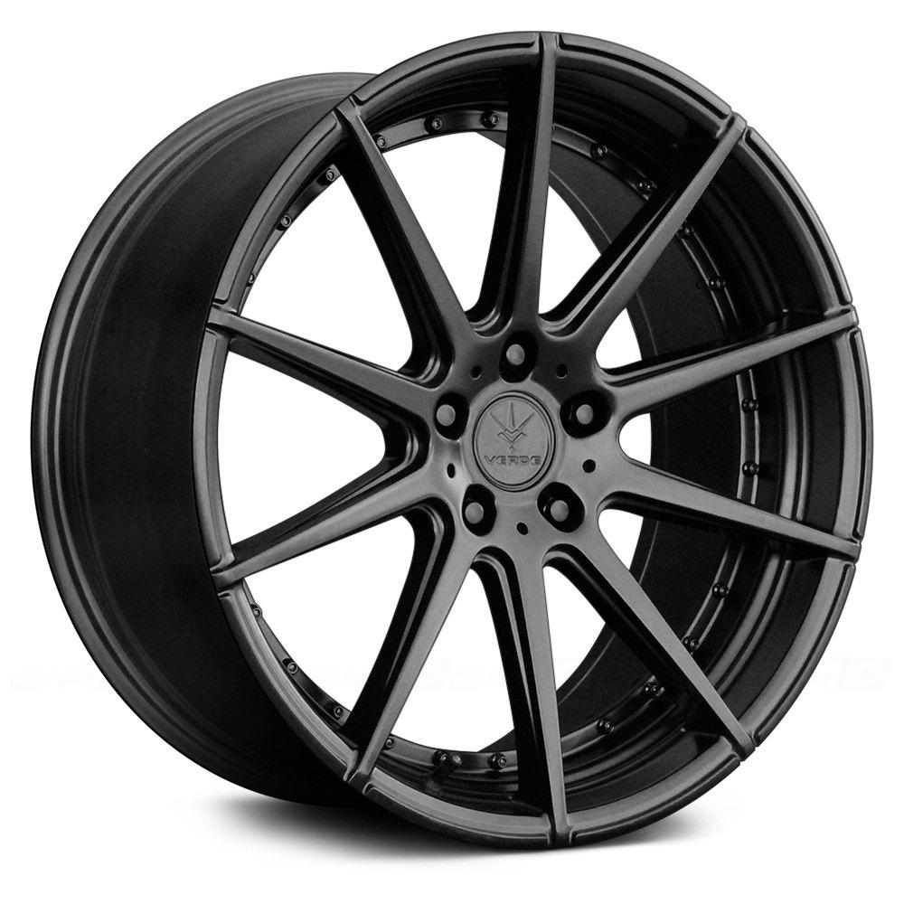 VERDE® V20 INSIGNIA Wheels - Satin Black Rims