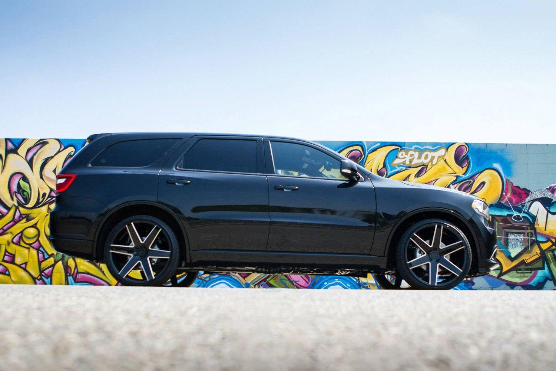 Dodge Durango Lug Pattern >> Verde V24 Invictus Gloss Black With Milled Accents 24 X 10 31 Offset 6x135 Bolt Pattern 87 1mm Hub