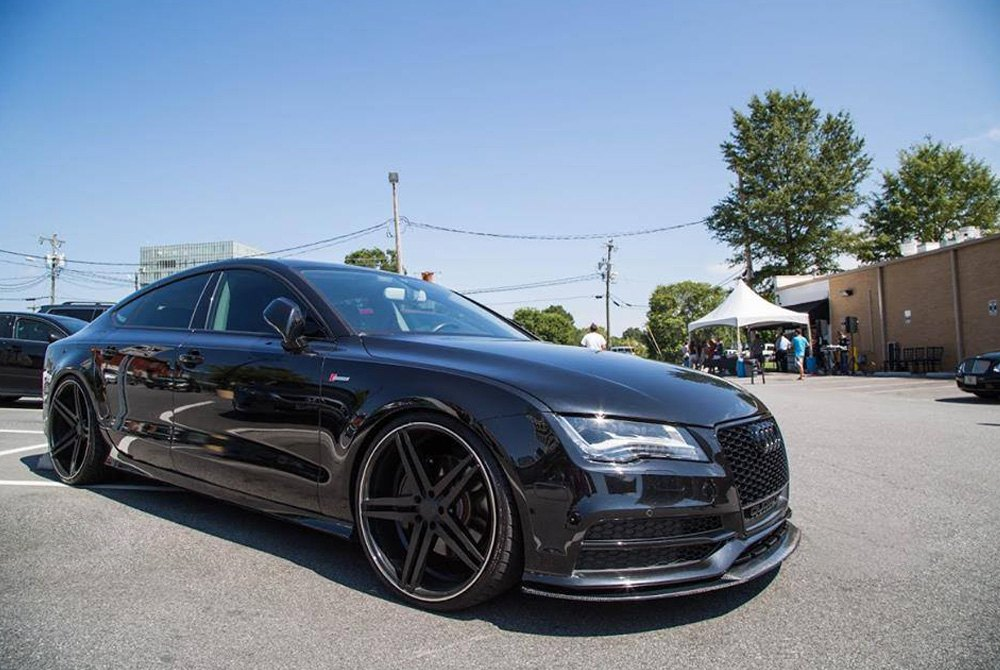 Audi S7 Coupe >> VERDE® PARALLAX Wheels - Gloss Black Rims