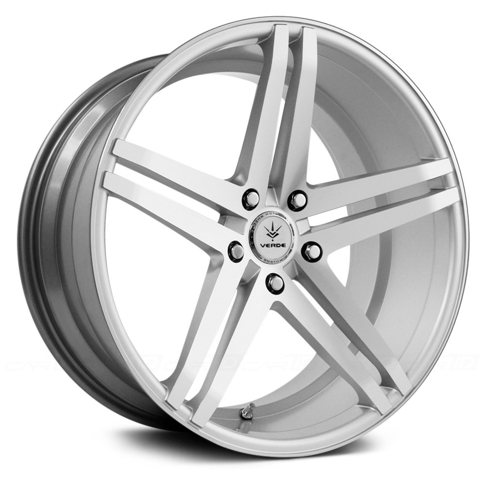 VERDE® V39 PARALLAX Wheels - Matte Silver with Machined ...