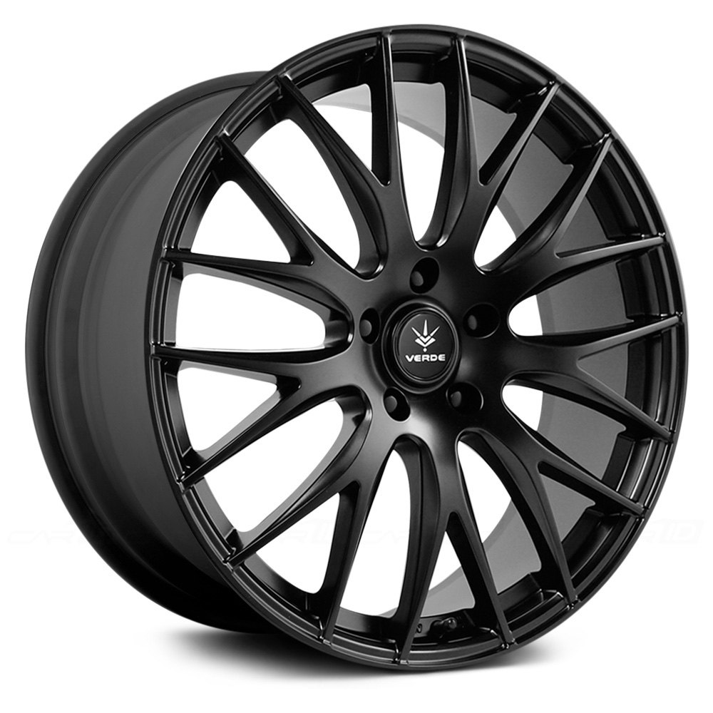 VERDE SAGA Wheels Satin Black Rims V27 773140B E