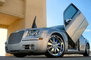 Chrysler 300 vertical doors