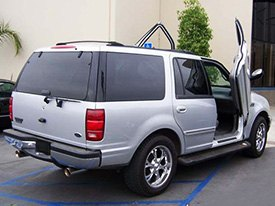 Vertical Doors Installed on Ford Expedition