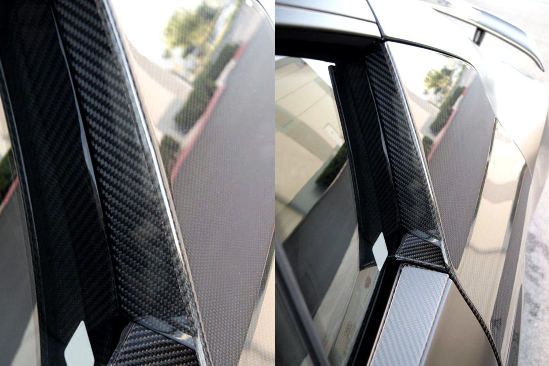 Vertical Doors® - German Rush™ Carbon Fiber Door Trim for Side ... & Vertical Doors® GR8CFDTB0714 - German Rush™ Carbon Fiber Door Trim ...