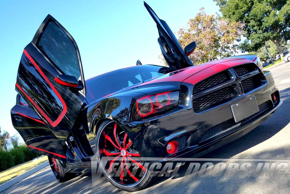 Vertical Doors 174 Dodge Charger 2011 Lambo Door Conversion Kit