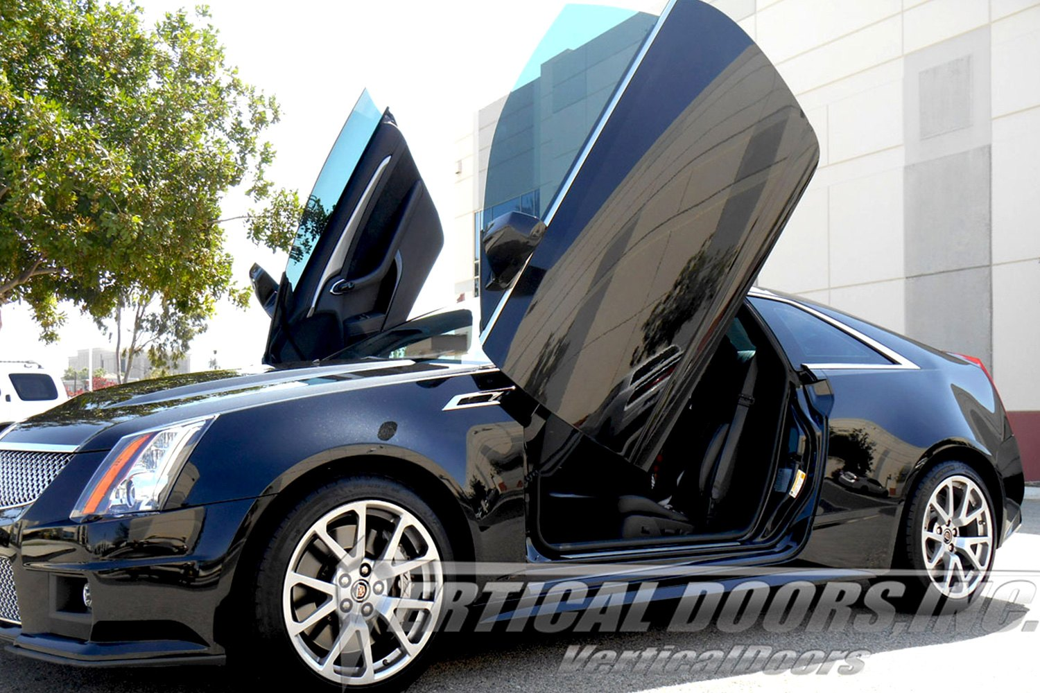 Vertical Doors 174 Cadillac Cts 2013 Lambo Door Conversion Kit