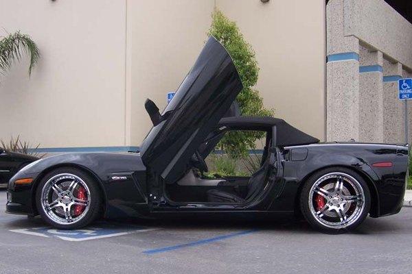 Vertical Doors 174 Vdcchevycorc60508 Chevy Corvette 2005
