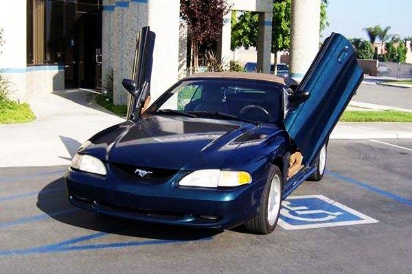 Vertical Doors 174 Vdcfm9498 Ford Mustang 1994 1998 Lambo