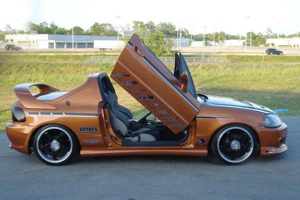 Vertical Doors 174 Vdchdelsol9397 Honda Del Sol 1993 1997