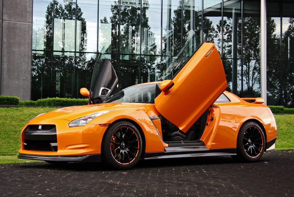 ... VERTICAL DOORS® - Lambo Doors on Nissan GT-R ... & Vertical Doors Inc.™   Lambo Door Conversion Kits - CARiD.com