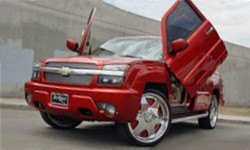 Chevy Tahoe Vertical Doors