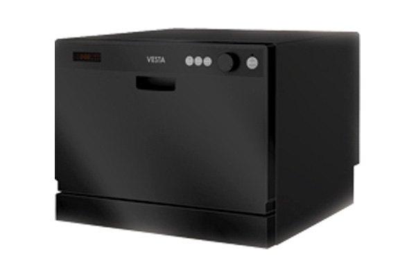 Countertop Dishwasher In Black : Vesta Black Vesta Countertop Dishwasher eBay