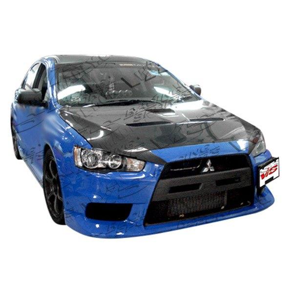 Vis racing 08mtlan4devox 001 evo x style fiberglass for Garage mitsubishi valence