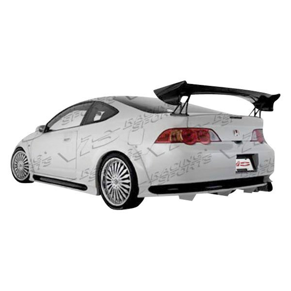 vis racing acura rsx 2 doors 2002 2004 invader style. Black Bedroom Furniture Sets. Home Design Ideas