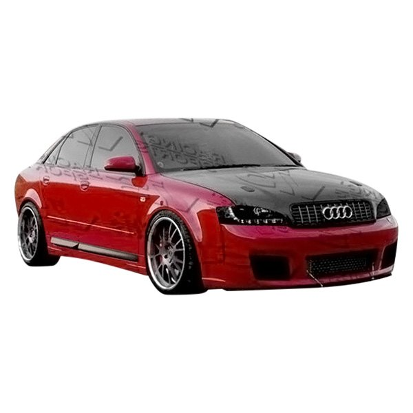 vis racing audi a4 4 doors 2002 2005 rs4 style. Black Bedroom Furniture Sets. Home Design Ideas