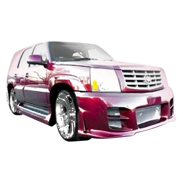 Used Cadillac Escalade Parts For Sale: Cadillac Escalade 2002-2006 Outcast Style Fiberglass Body Kit