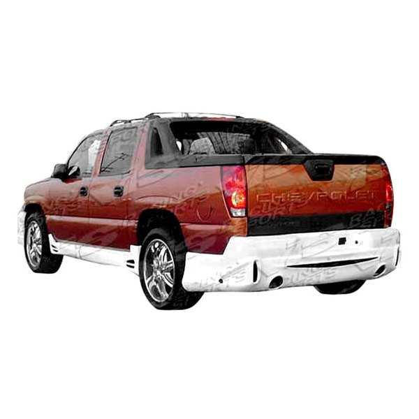 vis racing chevy avalanche 4 doors 2004 outcast style fiberglass bumpers. Black Bedroom Furniture Sets. Home Design Ideas