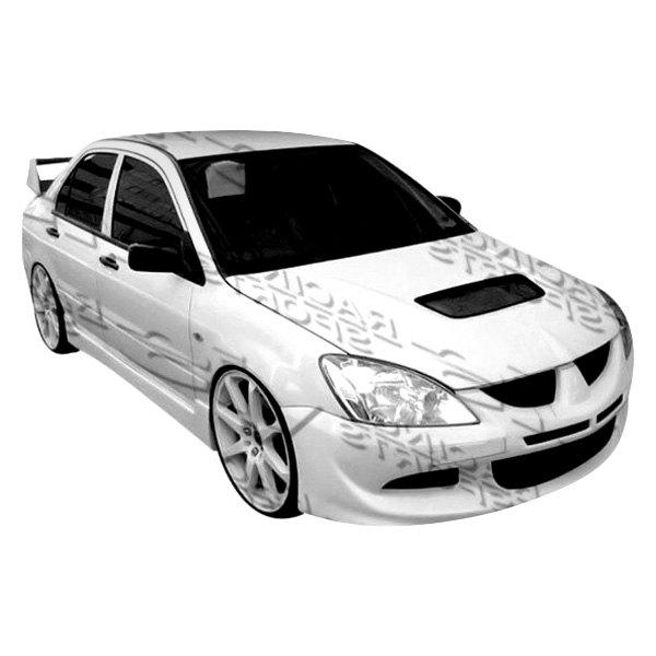 Vis racing 04mtlan4devo8 001 mitsubishi lancer 2005 evo for Garage mitsubishi valence