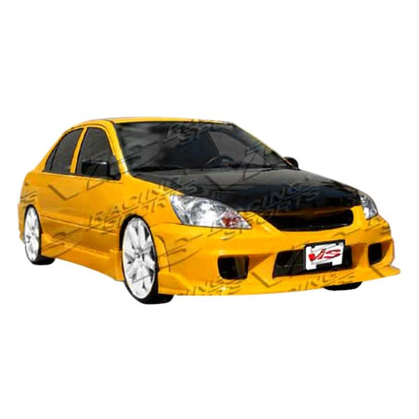 Vis racing 04mtlan4dn1 001 n1 style fiberglass front for Garage mitsubishi valence
