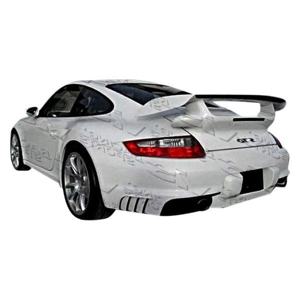 vis racing porsche 911 series 2 doors 2005 2008 gt2 style fiberglass bumpers. Black Bedroom Furniture Sets. Home Design Ideas