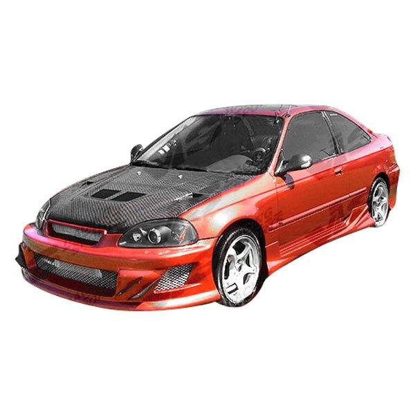 Vis racing honda civic 2 doors 1998 techno r 2 style for 03 honda civic 2 door