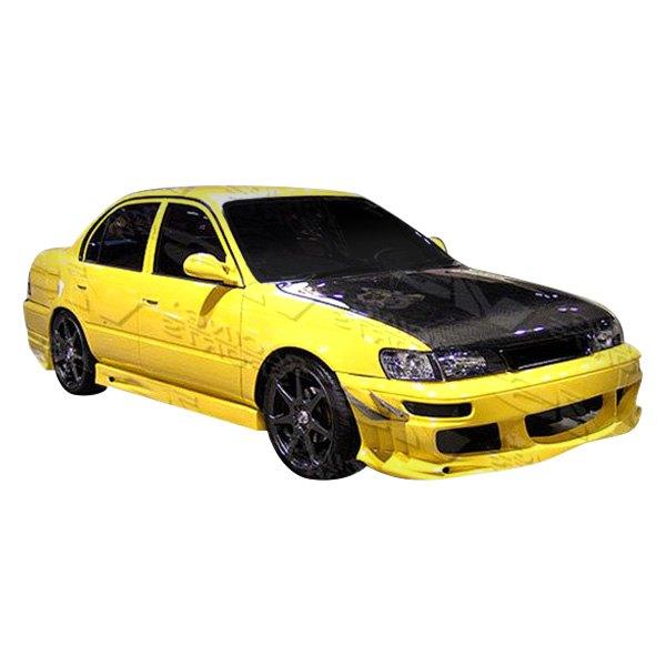 Toyota Celica 1994 1999 Invader Front Bumper: Toyota Corolla 4 Doors 1998-2000 Ballistix