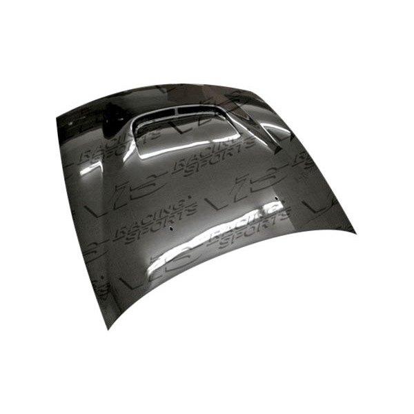 Vis racing nissan 240sx 1989 1991 js style carbon fiber hood 240sx carbon fiber interior