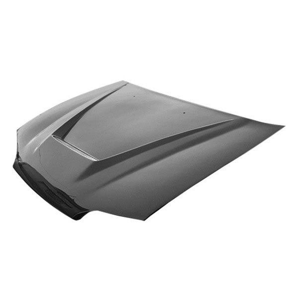 vis racing honda civic 1995 invader style carbon fiber hood. Black Bedroom Furniture Sets. Home Design Ideas