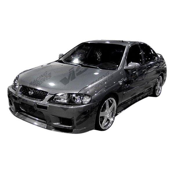 vis racing nissan sentra 2000 2003 omega front bumper. Black Bedroom Furniture Sets. Home Design Ideas