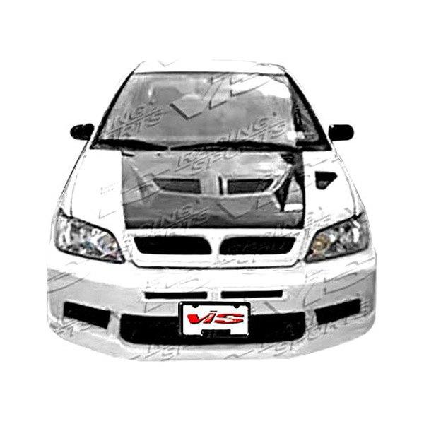 Vis racing mitsubishi lancer 2002 2003 evo 7 front bumper for Garage mitsubishi valence