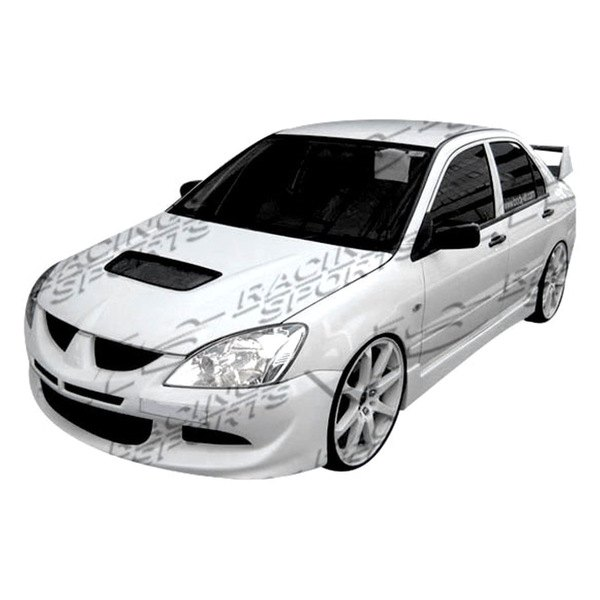 Vis racing mitsubishi lancer 2004 2007 evo 8 front bumper for Garage mitsubishi valence