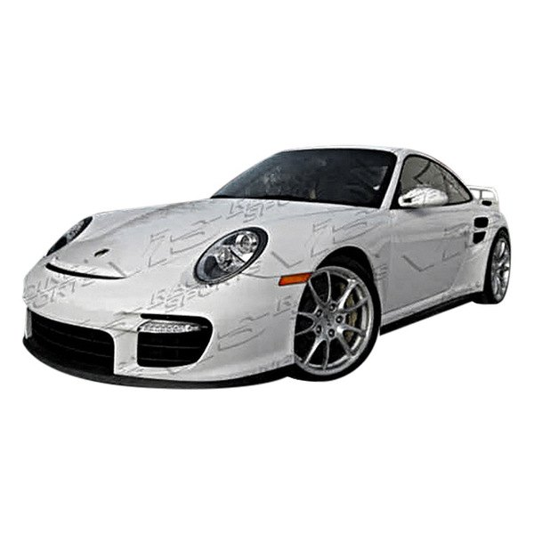 vis racing porsche 911 series 2005 2010 gt2 front bumper. Black Bedroom Furniture Sets. Home Design Ideas