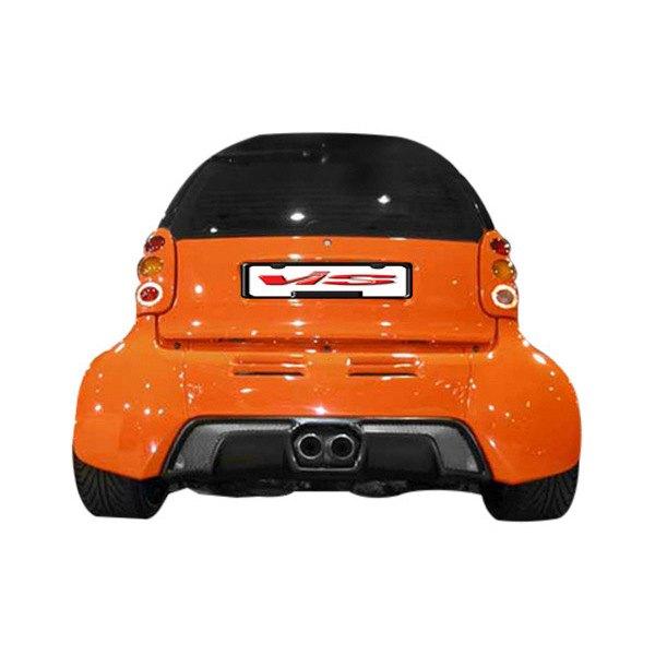 vis racing smart car fortwo 2008 2009 max wide body body kit. Black Bedroom Furniture Sets. Home Design Ideas