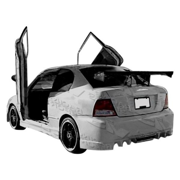 vis racing hyundai accent 2000 2002 evo 5 style. Black Bedroom Furniture Sets. Home Design Ideas