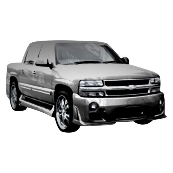 vis racing chevy avalanche 2004 outcast style fiberglass bumpers. Black Bedroom Furniture Sets. Home Design Ideas